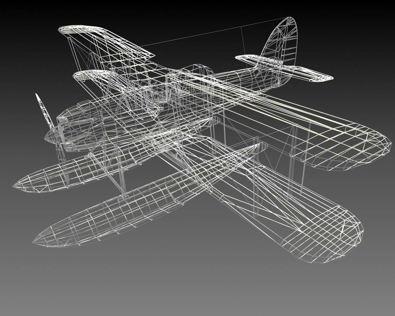 Pintura 3D | Aircraft | seafox_wire